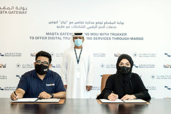 Maqta Gateway and TruKKer sign up for digital bookings