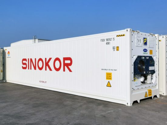 Sinokor adds 1,700 refrigerated containers