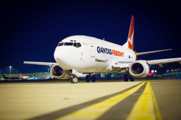 Qantas freight division carries international losses